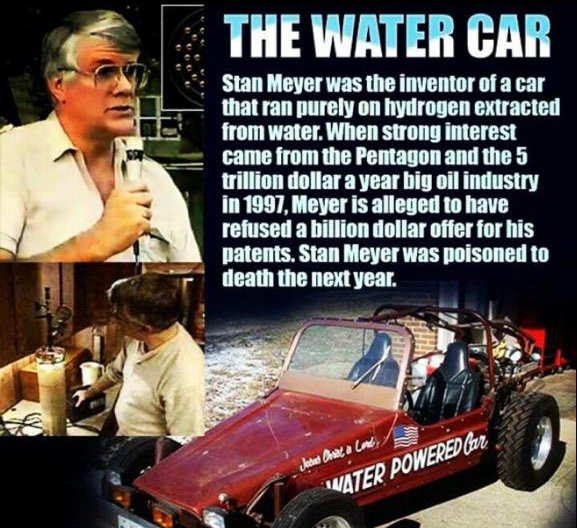 Inventor of The Water Powered Car Killed By The Elite