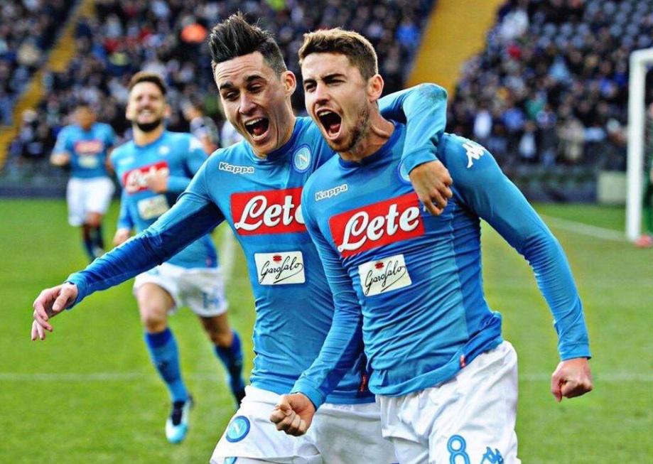 Udinese-Napoli 0-1: Jorginho riporta gli azzurri in vetta alla classifica | Calcio Serie A