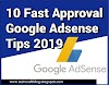Apply for Google Adsense Account – 10 Fast Approval Tips