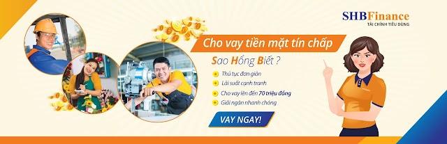 SHB FINANCE vay online tại nhà