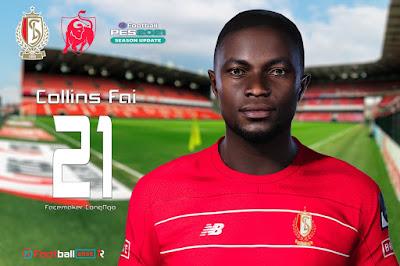 PES 2021 Faces Collins Fai by CongNgo