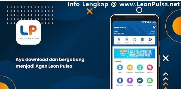 Mari Bisnis Jualan Pulsa Elektrik Murah All Operator Bersama LeonPulsa.net CV Jasa Payment Solution