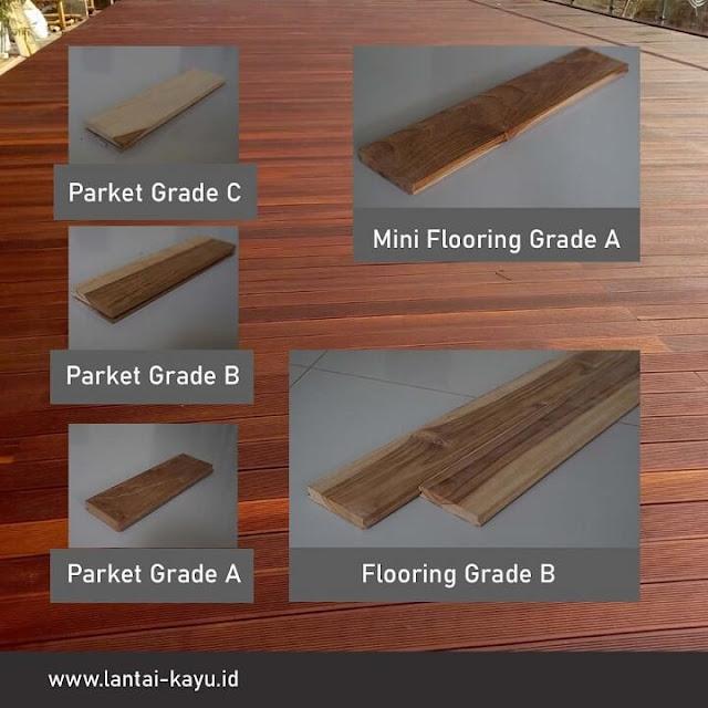 Daftar harga lantai kayu Jati terbaik