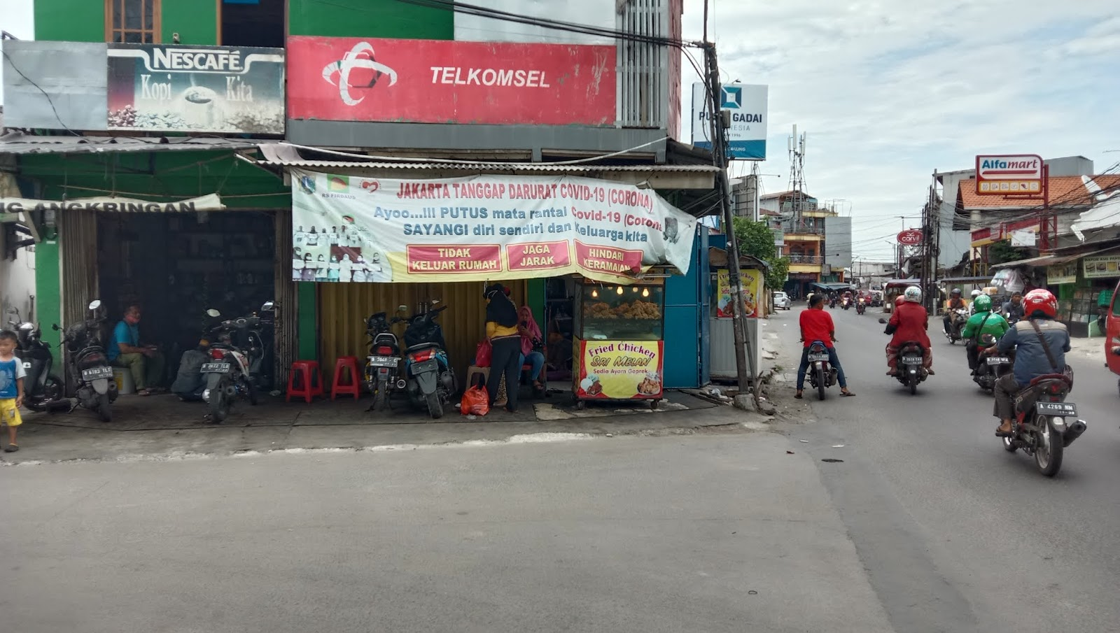 Fried Chicken Sri Melan Pasar Proyek Sukapura