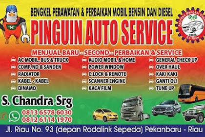 Lowongan Kerja Pinguin Auto Service Pekanbaru September 2019