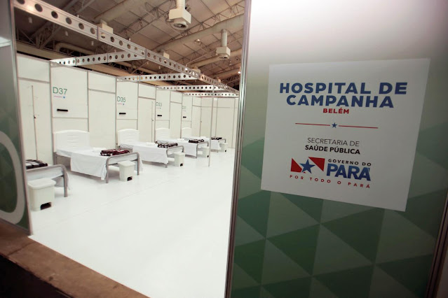 Governo abre 30 leitos para pacientes do Amazonas no Hospital de Campanha do Hangar