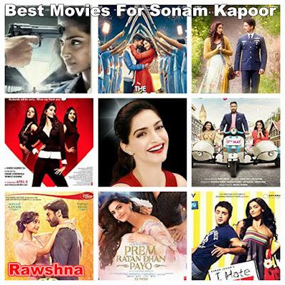 افضل افلام سونام كابور على الاطلاق  Sonam Kapoor قائمة افضل 8 أفلام سونام كابور على الاطلاق  فيلم Neerja فيلم The Zoya Factor فيلم Mausam  فيلم Thank You