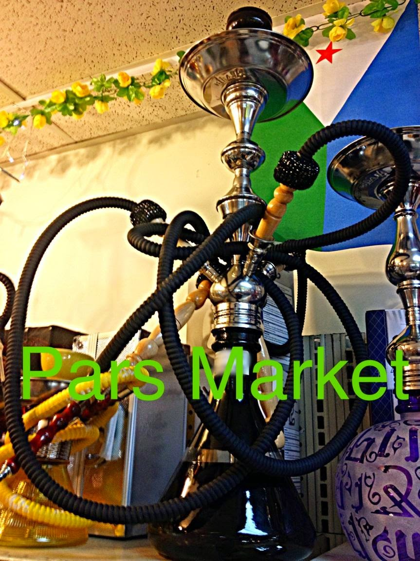 Multiple Hose Modern Hookah at Pars Market Columbia Maryland 21045