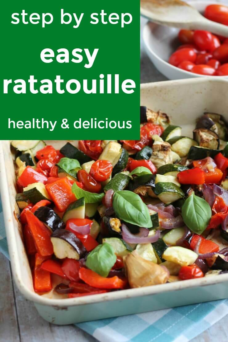 step by step ratatouille