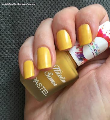 Pastel Hüzün Sarısı