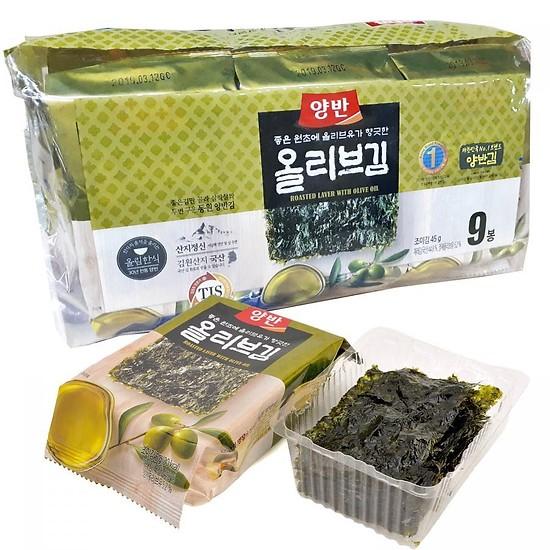 Combo 9 Gói Tảo Biển Dongwon