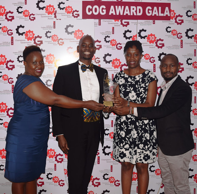 ABC bank voted top in Corporate Governance COG Awards 2019
