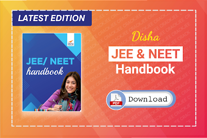 [PDF] Disha Handbook for JEE & NEET 2021 | Download for Free