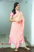 Actress Ritu Varma Pos in Beautiful Pink Anarkali Dress at at Keshava Movie Interview .COM 0169.JPG
