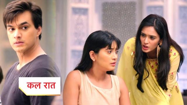 Big Twist : Vedika insults Naira's self-esteem forces Naira to leave Kartik in Yeh Rishta Kya Kehlata Hai