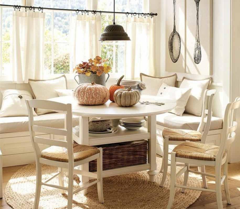 Ruang Kecil Sudut Dapur Tempat Sempurna Untuk Sarapan dan Menikmati Secangkir Kopi