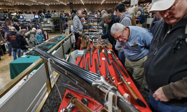 Judge pulls trigger after gun shows banned