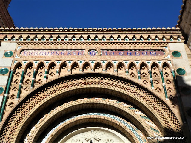 detalles estilo mudéjar en Teruel