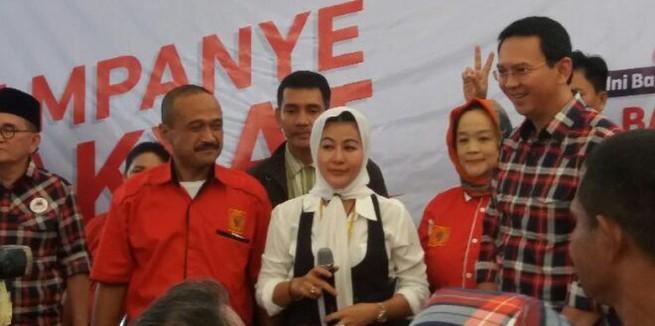 """Bertemu Ahok di Rumah Lembang, Hasnaeni """"Wanita Emas"""" Mengaku Silaturahmi Saja"""