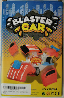 Box for Chuchik Toys Blaster Car Break-Apart Cars, from Amazon