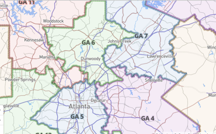 Map Of Georgia 6th Congressional.Political Pistachio Georgia Democrat Jon Ossoff A Carpetbagger