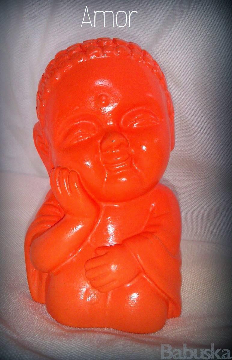 Buda del Amor Pintado y laqueado a mano (B196) Babuska