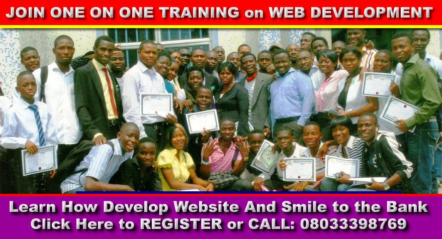Talk Nigeria Blog One On One Web Design Development Training In Surulere Lagos