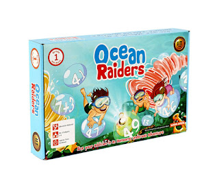 Logic Roots Ocean Raiders Board Game