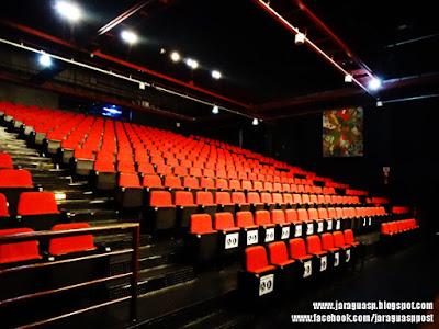 Teatro Plínio Marcos possui sistema de som de médio para grande porte