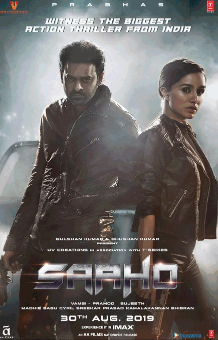 Prabhas and Shraddha Kapoor film Saaho Crosses 130 Crore Mark, 8th Bollywood Highest-Grossing of 2019 Wikipedia