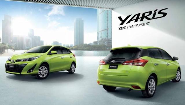 Mobil Yaris Merupakan Mobil Hatchback Unggulan Toyota