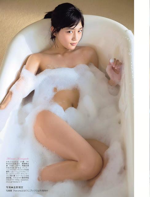 川口春奈 Haruna Kawaguchi FLASH March 2015 Photos