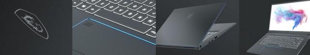 MSI Prestige 15  A10SC 9S7, Laptop Khusus untuk Content Creator