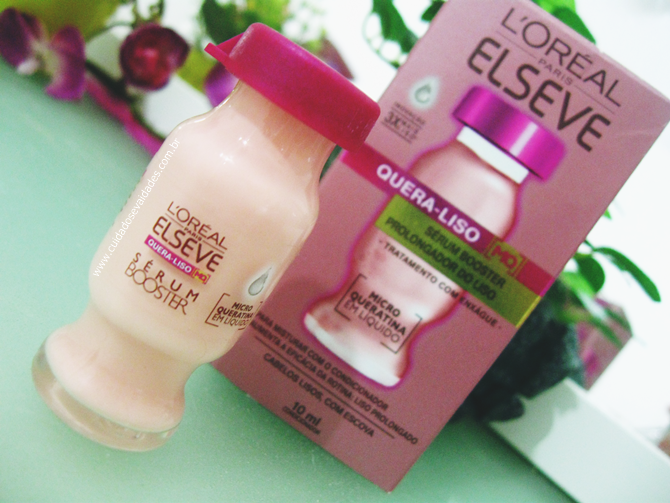 Sérum Booster Elseve Quera-Liso - L'Oréal Paris