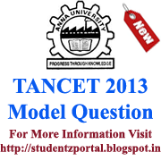 Anna University- Model Question Papers