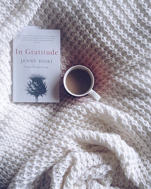 My month of currently reading.  Jenny Diski's In Gratitude.