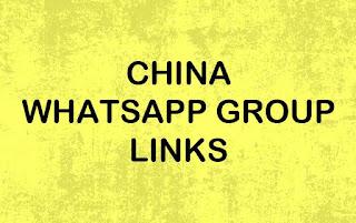 China WhatsApp Group Link