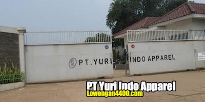 Lowongan Kerja PT Yuri Indo Apparel Cileungsi Bogor