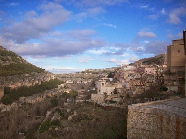 Vista de la hoz de Cuenca