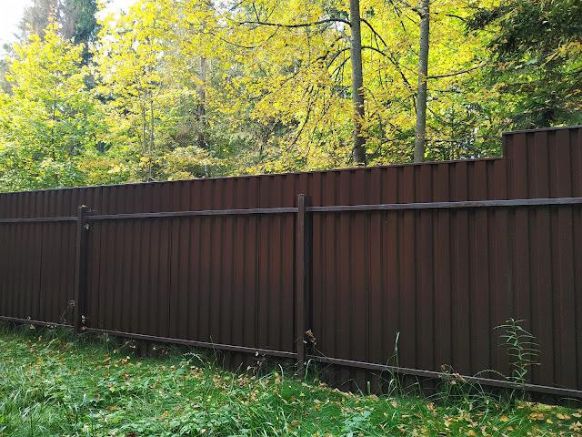 Забор и ворота. Удача случается не всегда.