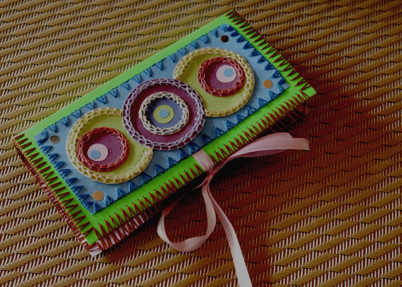 Embroidered Book Cover Tutorial : Million little stitches a chinese thread book