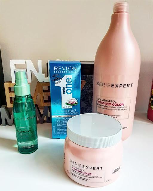 shampoo mascara e protector termico