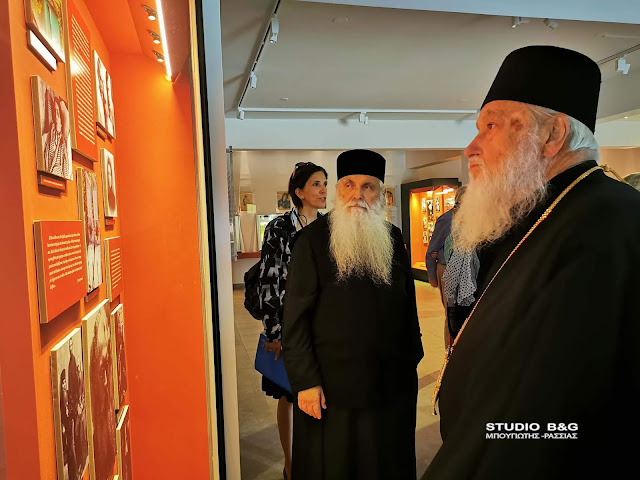 Ο Μητροπολίτης Κάλλιστος Γουέαρ επισκέφθηκε τον Άγιο Λουκά και την Αγία Μονή στο Ναύπλιο (βίντεο)