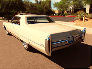 1966 Cadillac Coupe DeVille Rear Left