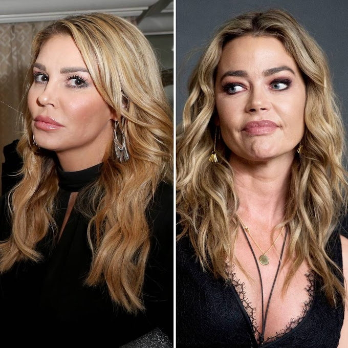 Brandi Glanville Shares Text Messages From Denise Richards In Attempt To Prove Their Alleged Hookup!