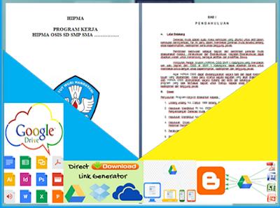 Contoh Format Program Kerja di Lingkungan Sekolah Format Word Terbaru