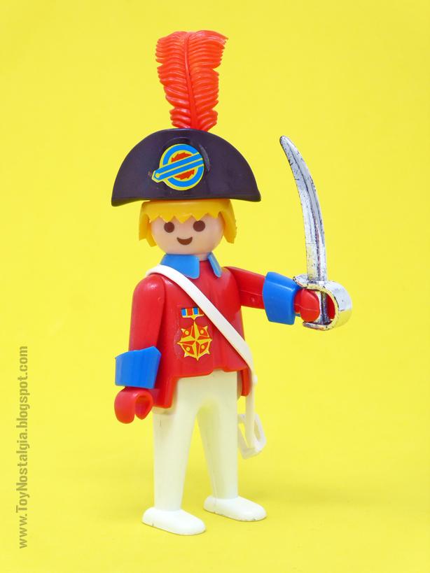 "Playmobil 3544, Capitán ""redcoat"" con bicornio y sable  (Playmobil 3544 - redcoats)"