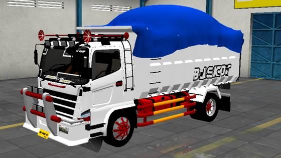 Mod Truck Hino 500 Dump Ala Scania