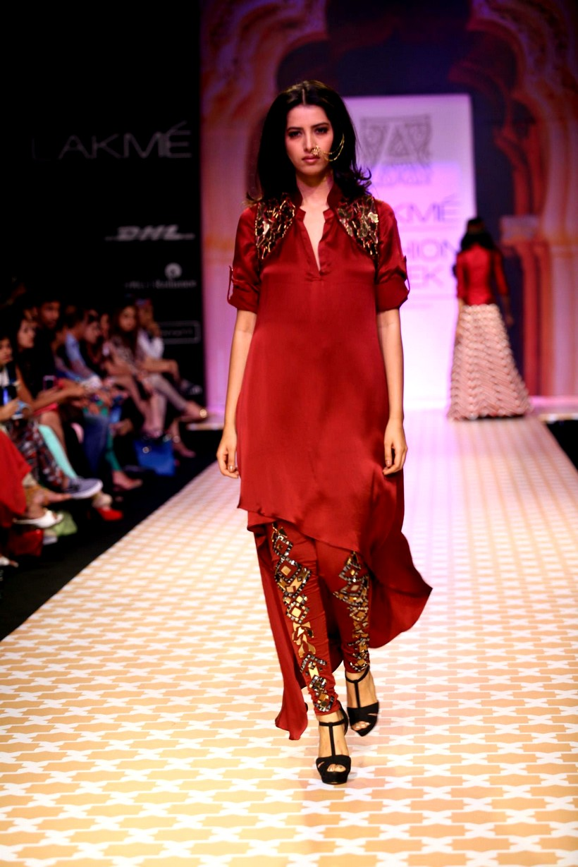 Latest Fashion Trends Lakme Fashion Show Winter Festive 2013 Day 5 Indian Designer Fashion Show