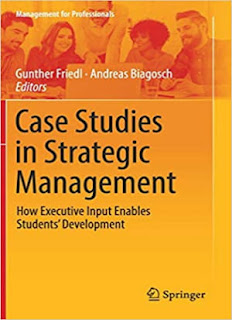 Case Studies in Strategic Management: How Executive Input Enables